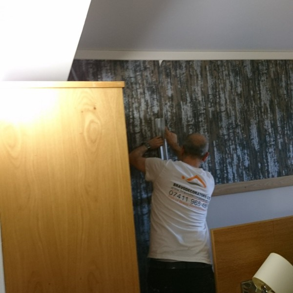 Police federation house painting and decorating - Leatherhead